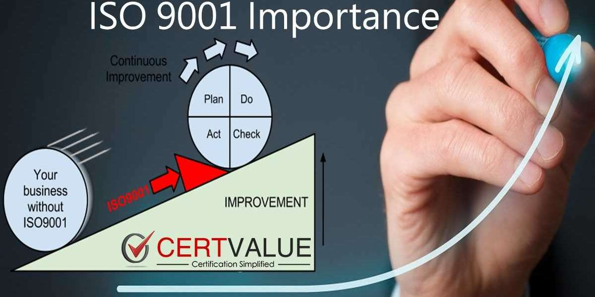 What are the benefits of ISO 9001 certification and How does it benefits your customer?