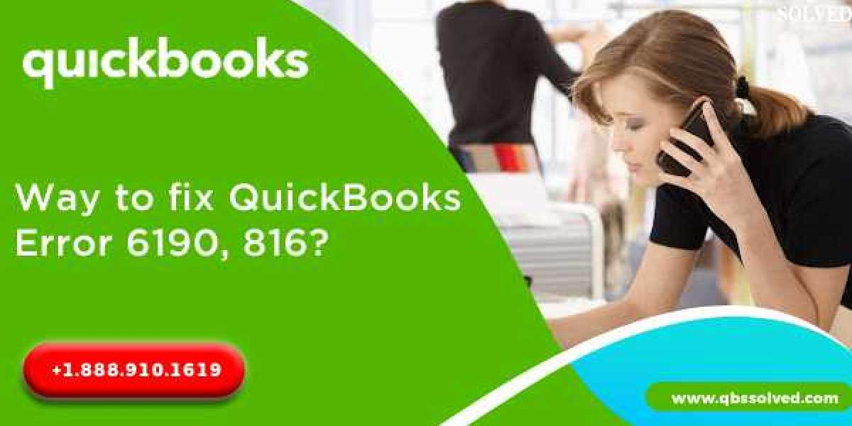 How to Resolve QuickBooks Error 6190 and 816? - QBSsolved